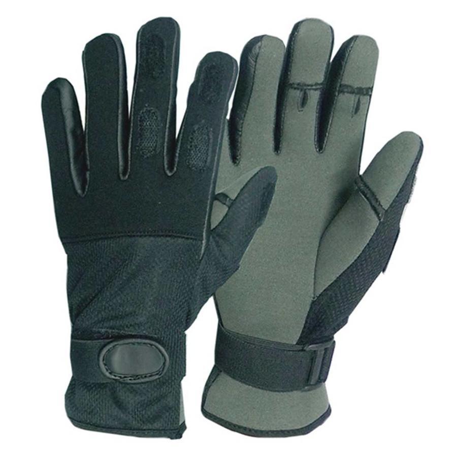 Tactical Neopreen Handschoenen Zwart Uniseks