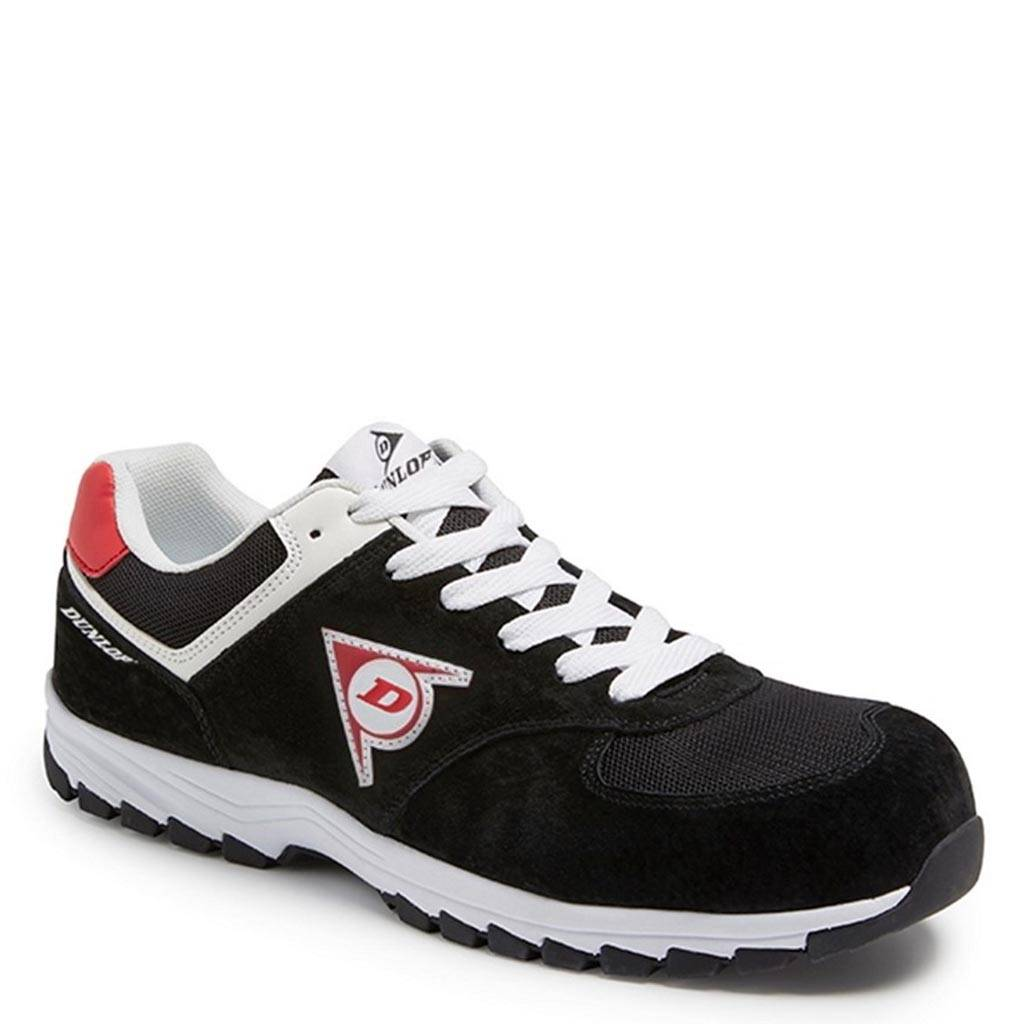 Werkschoenen Sneakers S3.Werkschoenen Dunlop Flying Arrow Zwart Lage Sneakers S3