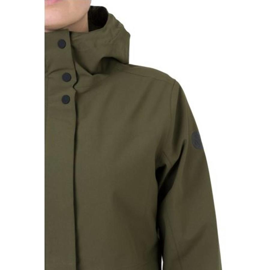 Outdoor Parka 2.5L Regenjas Army Green Dames