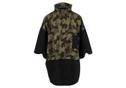 Agu Urban Outdoor 2.5L Poncho Zwart Camo One Size