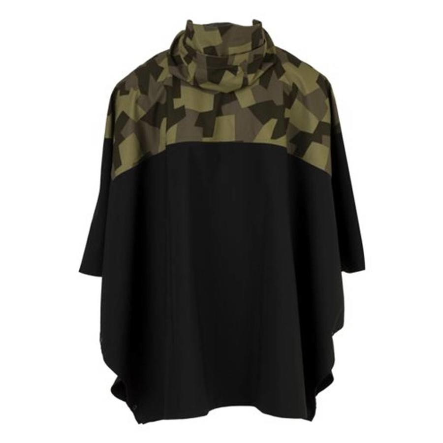 Urban Outdoor 2.5L Poncho Zwart Camo One Size