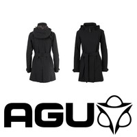 Urban Outdoor Trench Coat Zwart Dames
