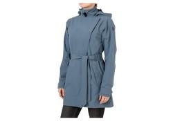 Agu Urban Outdoor Trench Coat Dusty Blue Dames