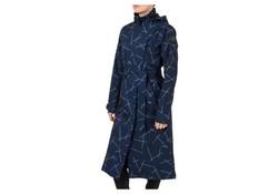 Agu Urban Outdoor Trench Coat Long Navy Blue Dames