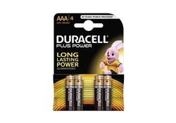 Duracell AAA x4 LR03 Plus Power Batterijen