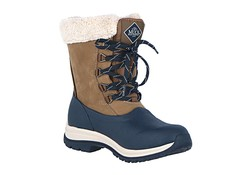 Muck Boot Arctic Lace Mid Leather Navy Winterlaarzen Dames
