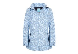 Happy Rainy Days Jacket Vaya Viola-Off White Regenjas Dames