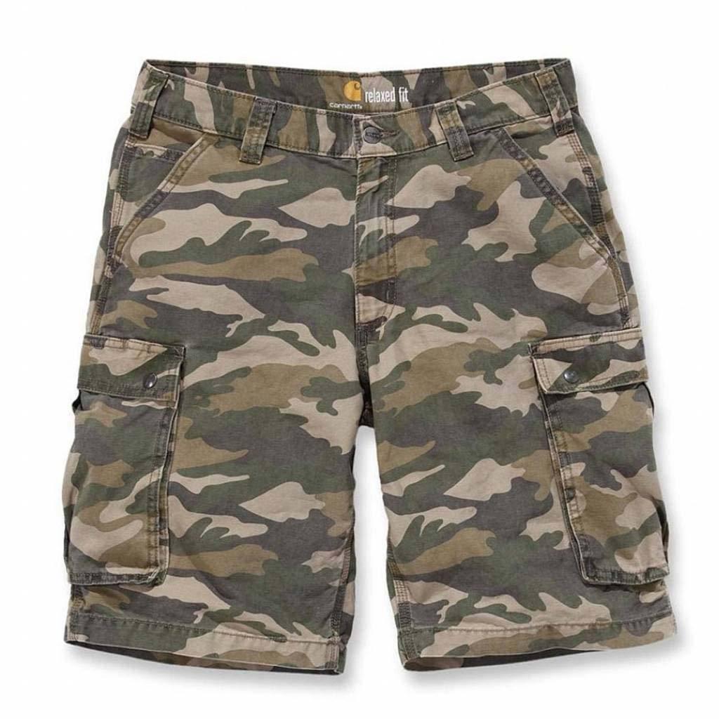 Carhartt Rugged Cargo Khaki Camo Short Heren Size : 34