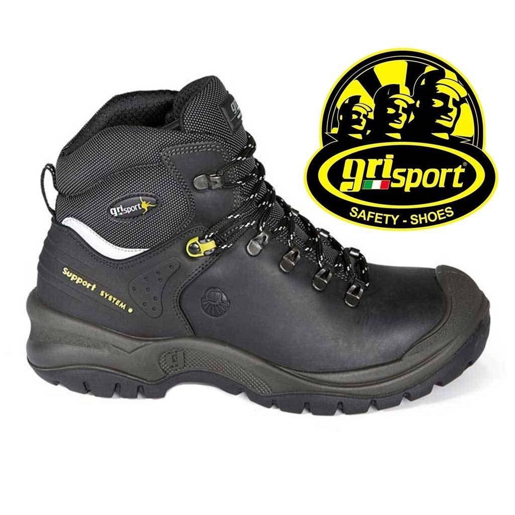 Werkschoenen Grisport 803 Zwart Heren. S3 Norm