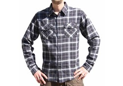 Vintage Industries Harley Shirt Grey Check Heren