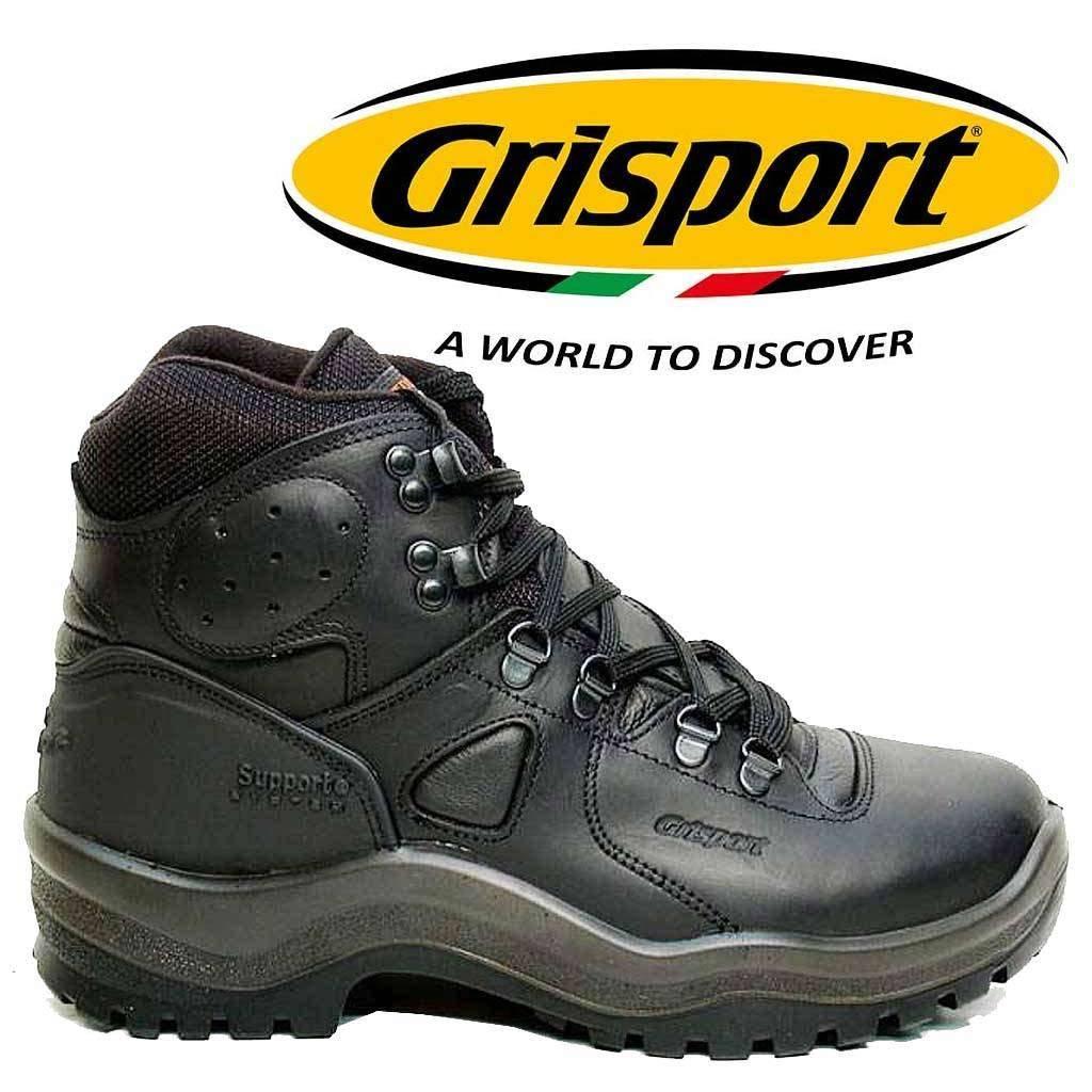 9370d9dfaf2 Grisport Sherpa Zwart Wandelschoenen Uniseks