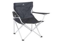 Camp  Gear Compact Zwart Vouwstoel Campingstoel