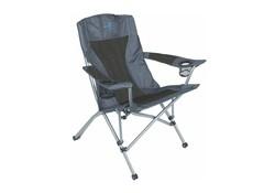 Bo-Camp Deluxe Comfort Antraciet Vouwstoel Campingstoel