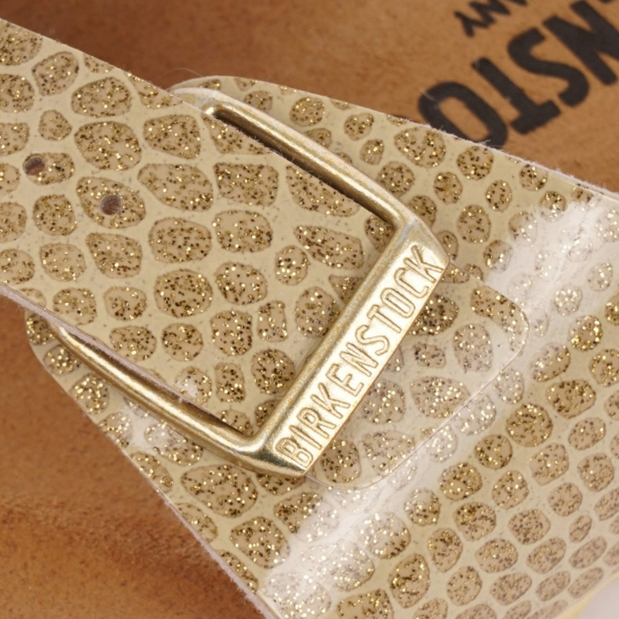 Madrid Magic Snake Gold Slippers Dames