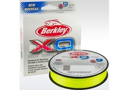 Berkley X9 Braid Flame Green 300 meter