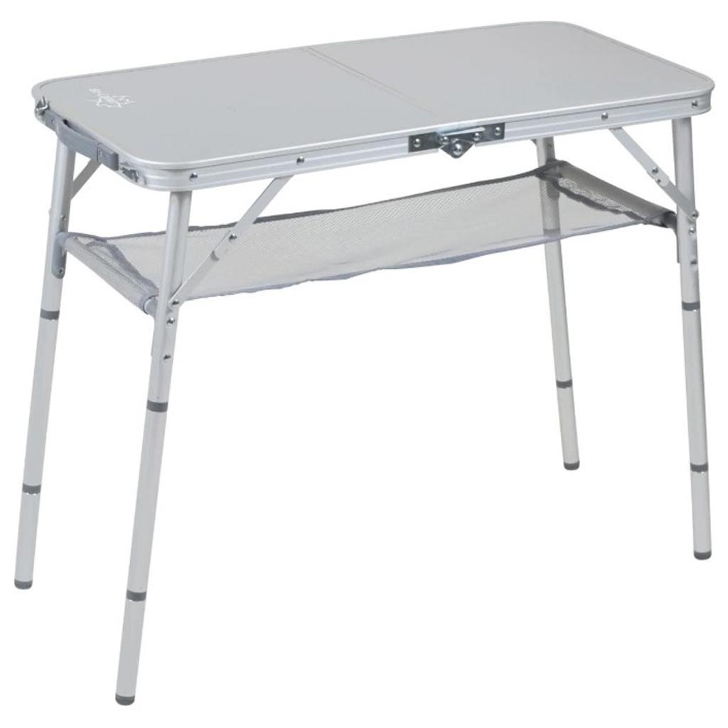 Side Table Grijs.Picknicktafel Bo Camp Premium Side Table Grijs Campingtafel