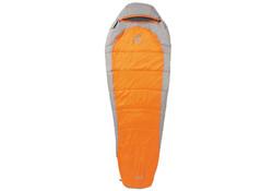 Coleman Silverton Comfort 150 Oranje Grijs Slaapzak 223 x 81 cm