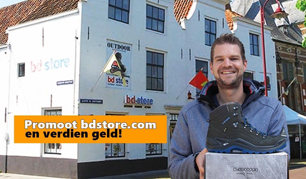 BD Store - Tradetracker - Promoot bd store en verdien geld