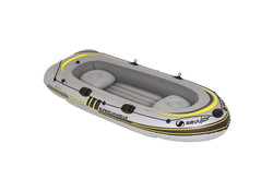 Super Caravelle Grijs 4-Persoons Opblaasboot