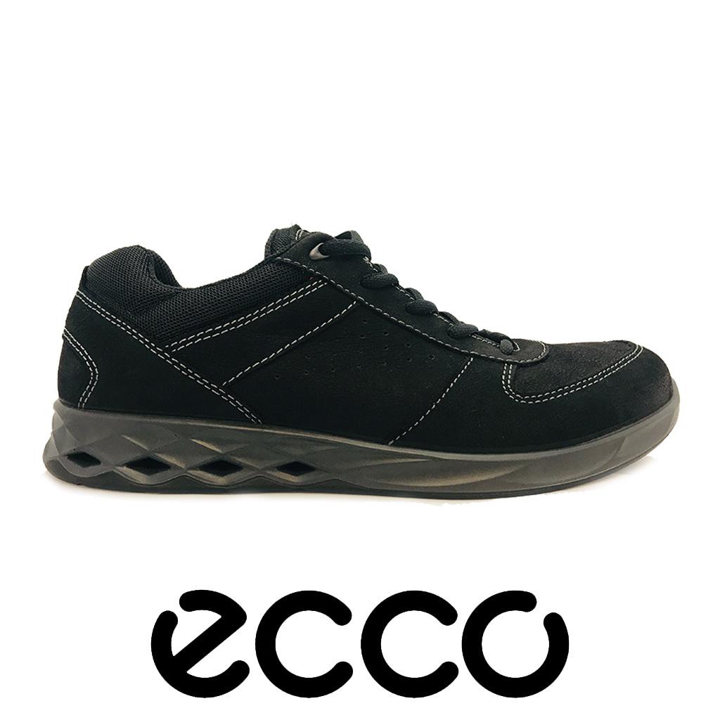 Ecco Wayfly Black Zinnia Textile Wandelschoenen Heren
