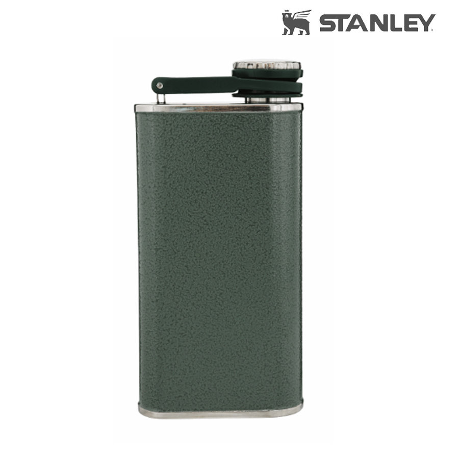 Classic Flask 0.23 Liter Hammertone Green Fles