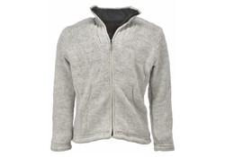 Pure Wool WJK-1502 Ecru Wollenvest Heren