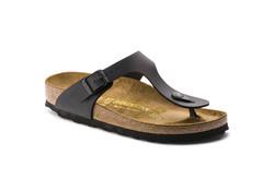 Birkenstock Gizeh Black Slippers Dames