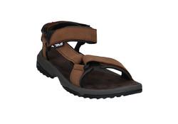 Teva Terra Fi Lite Brown Leather Sandalen Heren