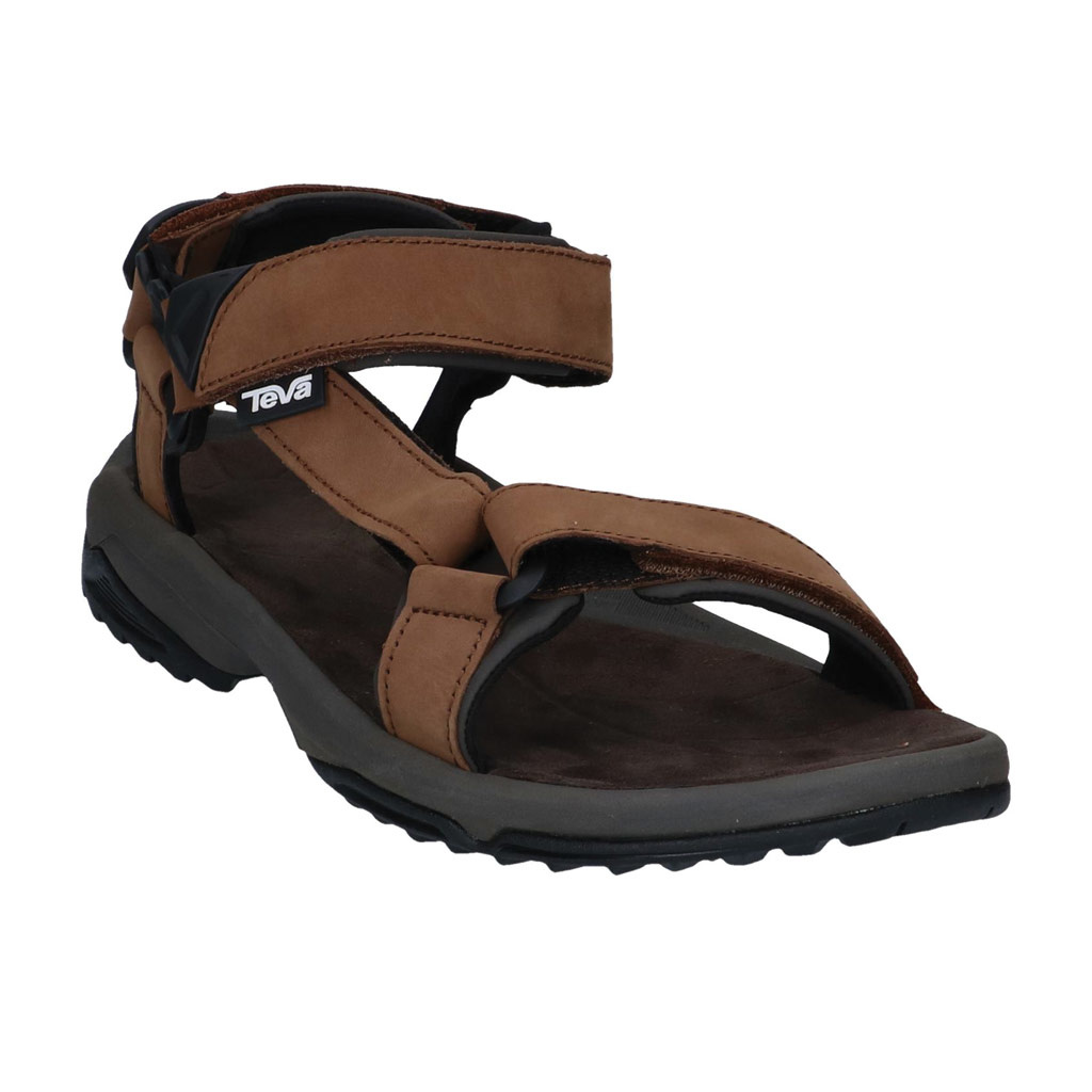 ba90867bdfa077 Sandalen Teva Terra Fi Lite Brown Leather Heren