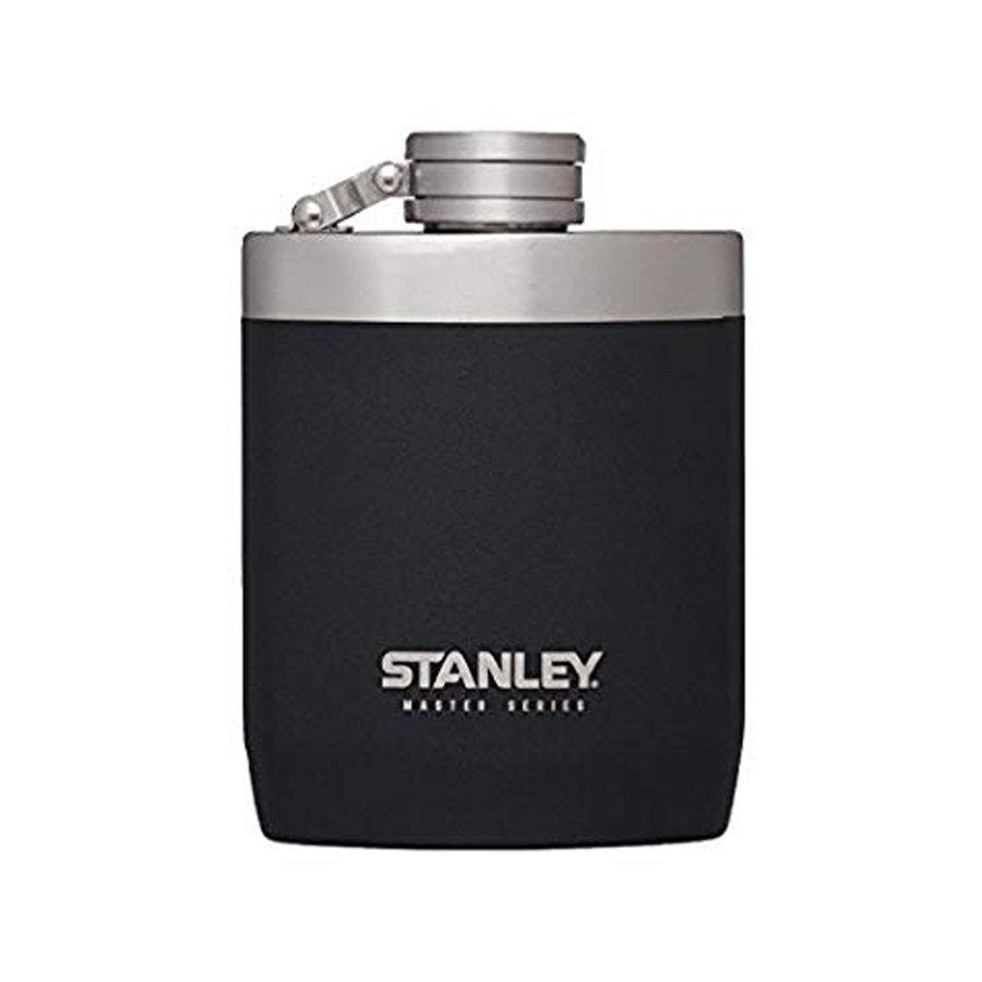 Master Vacuum Flask 0.23 Liter Foundry Black Heupfles