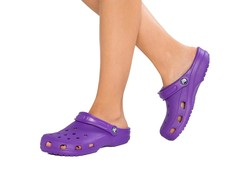 Crocs Classic Neon Purple Klompen Dames