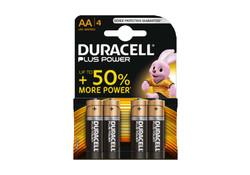 Duracell AA x4 Plus Power Batterijen