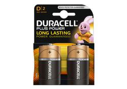 Duracell D x2 LR20 Plus Power Batterijen