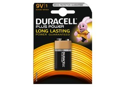 Duracell 9V 6LP3146 Plus Power Batterij