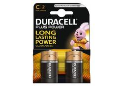 Duracell C LR14 x2 Plus Power Batterijen