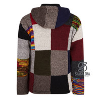 Patchwork Multicolor Vest Heren