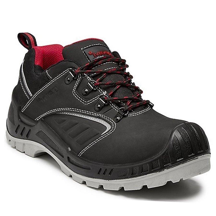 Werkschoenen Gevavi.Werkschoenen Gevavi Safety Gs43 S3 Laag Zwart Uniseks