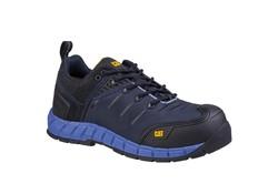 Caterpillar Byway S1P Zwart-Blauw Lage Werkschoenen Heren