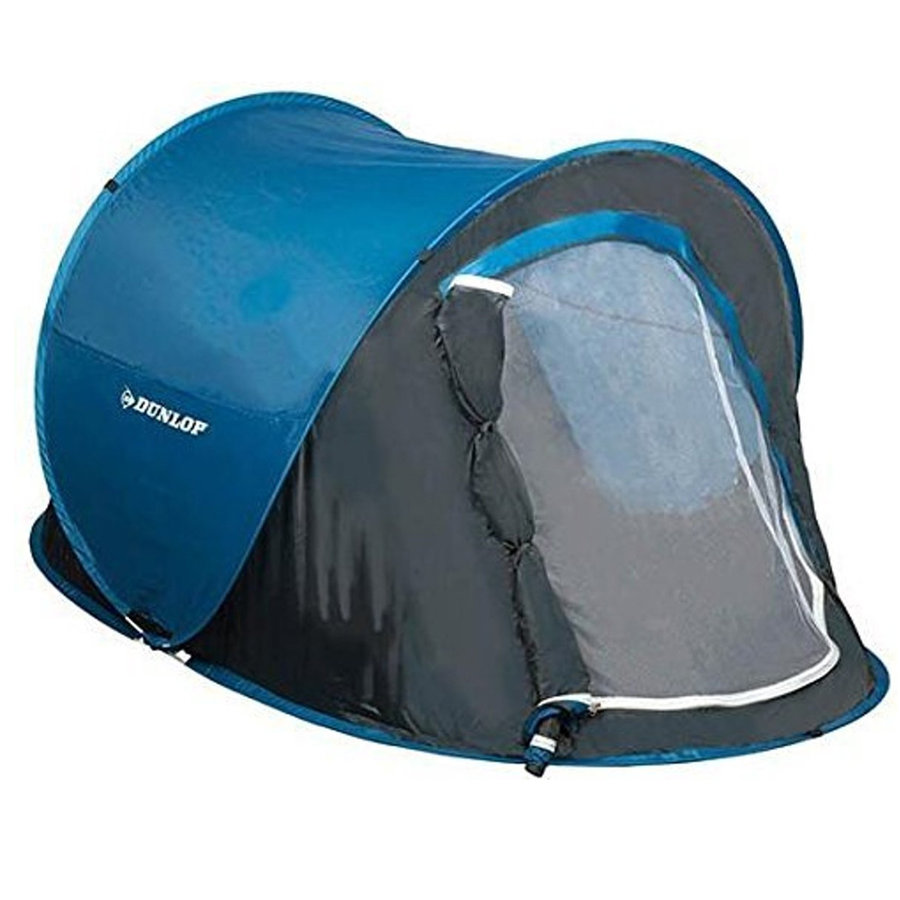 HT 190T Blauw Tent 1 Persoon - Festivaltent
