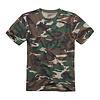 Brandit Woodland T-Shirt Heren