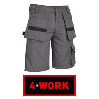 Murcia Multipocket Grijs Shorts Heren