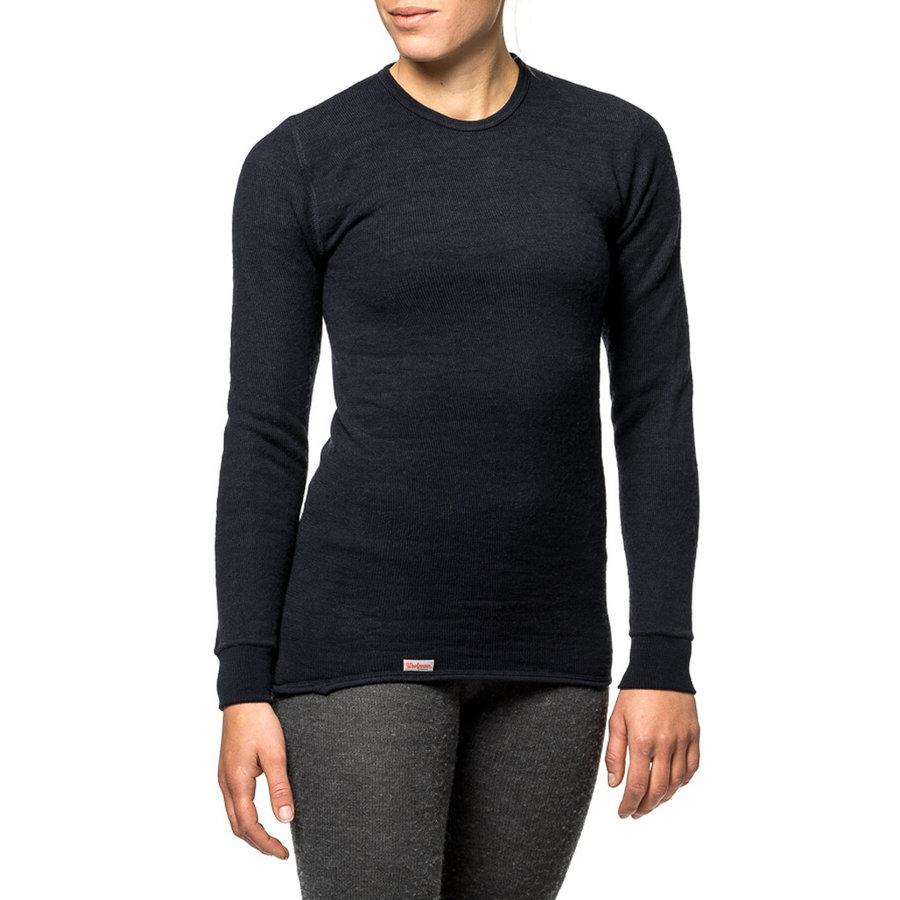 Crewneck 200 Zwart Longsleeve Shirt Uniseks
