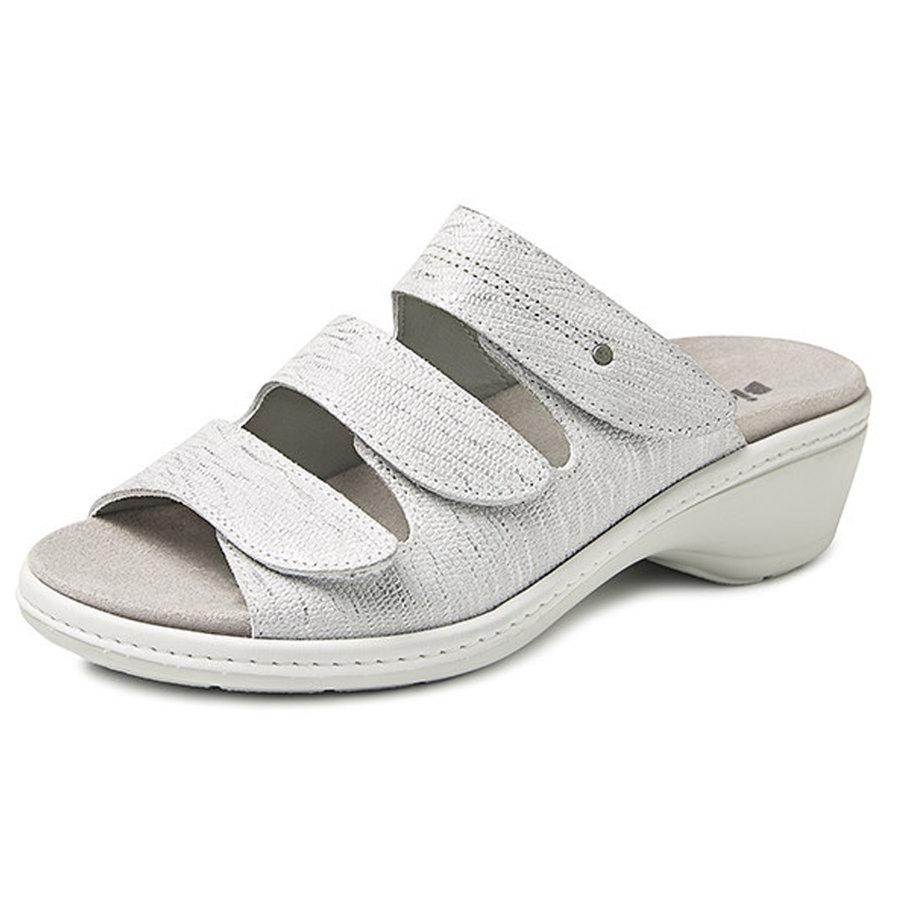6327 Zilver Slippers Dames