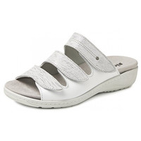 6614 Zilver Slippers Dames