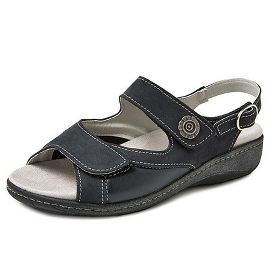 7295 Blauw Sandalen Dames