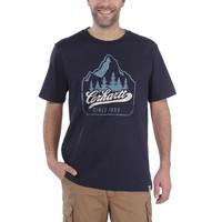 Patch Logo Navy T-Shirt Heren