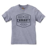 Build By Hand Heather Grey T-Shirt Heren
