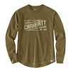 Carhartt Tilden Graphic Military Olive LS Shirt Heren