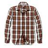 Carhartt Essential Open Collar Sequoia Plaid Overhemd Heren