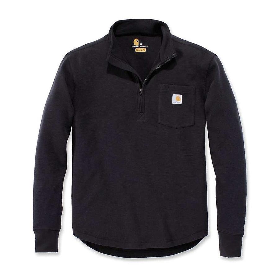 Tilden Half Zip Zwart Sweater Heren